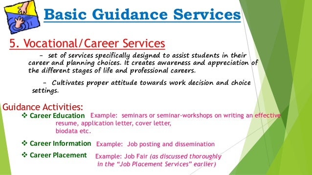 guidance amp counseling guidance services