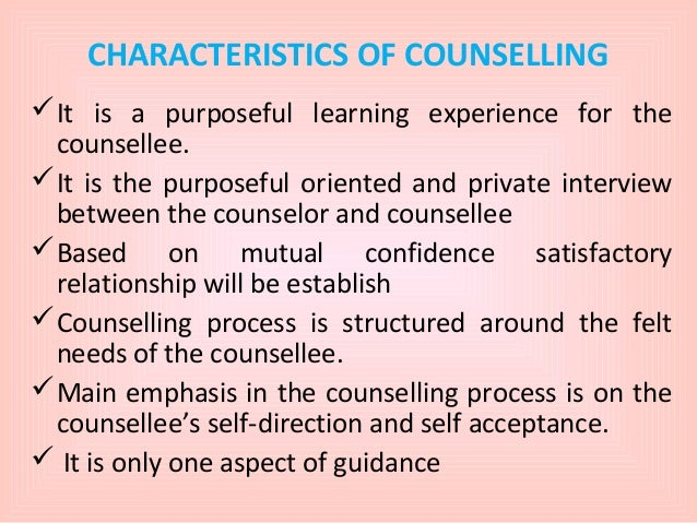 personal and professional qualities of a counselor