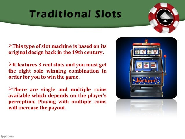 How To Get Slot Machines