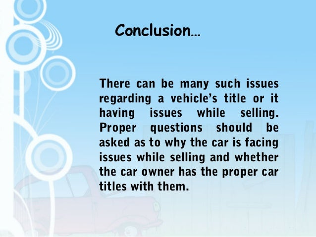 Questions To Ask When Buying Used Car From Owner