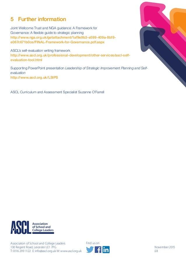 Guidance paper leadership of strategic improvement planning and self improvement 10 maxwellsz