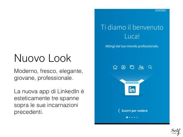 Guida nuova app LinkedIn Slide 2