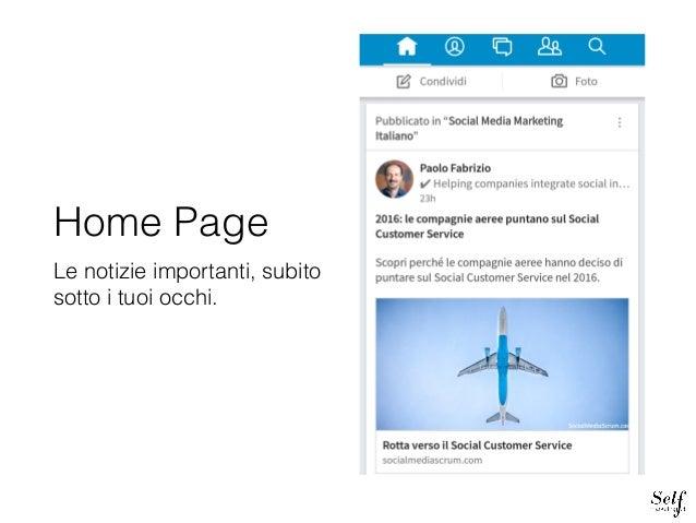 Guida nuova app LinkedIn Slide 3