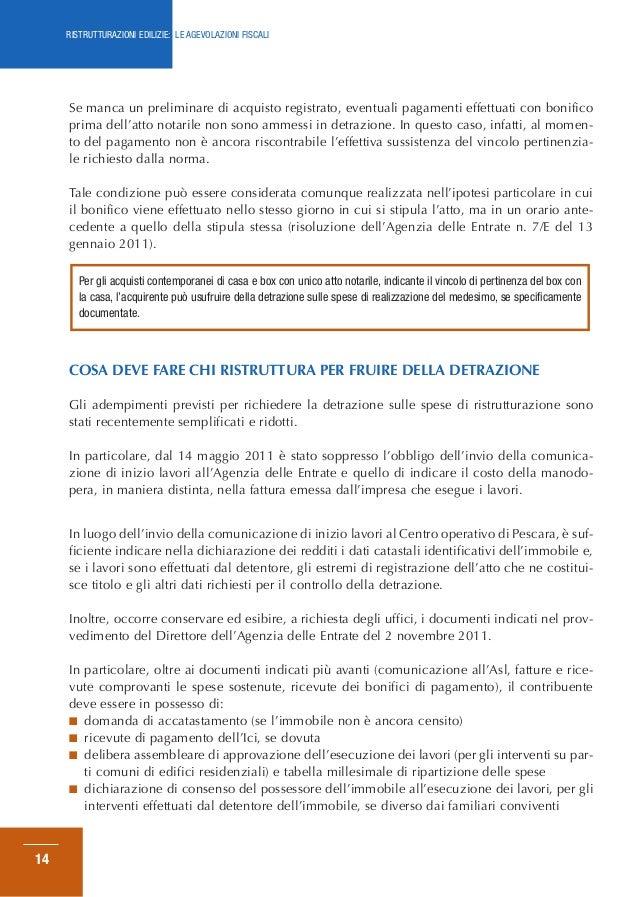 Perfect Fabulous Edilizie Le Fiscali With Detrazione Spese Notarili Rogito Prima  Casa.