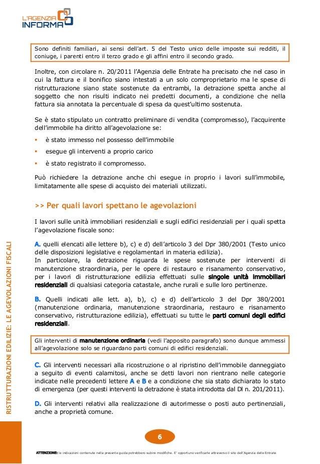 Guida ristrutturazioni edilizie bonus 50 settembre 2014 for Guida ristrutturazioni