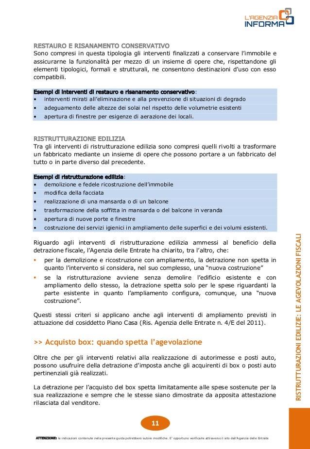 Agenzia delle entrate guida 2016 ristrutturazioni edilizie for Ristrutturazione edilizia agenzia entrate