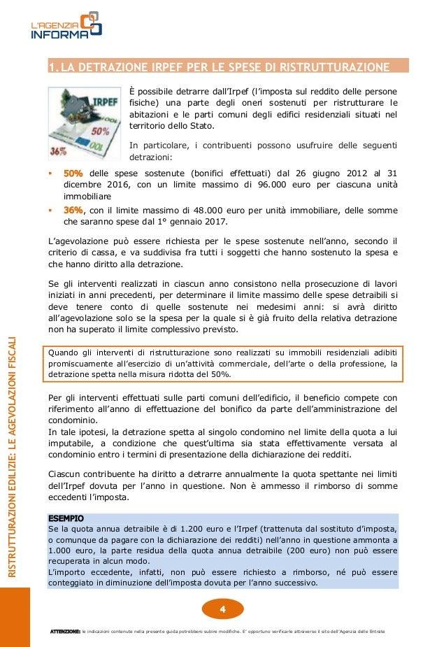 Agenzia delle entrate guida 2016 ristrutturazioni edilizie for Fac simile fattura ristrutturazione edilizia 2016