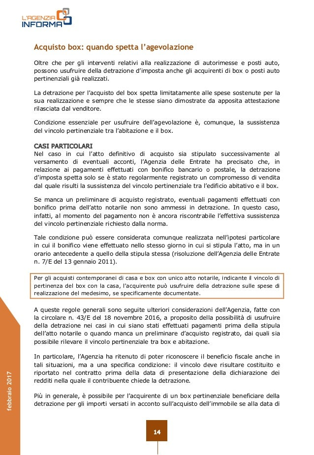 Guida ristrutturazioni edilizie 2017 for Detrazione spese notarili