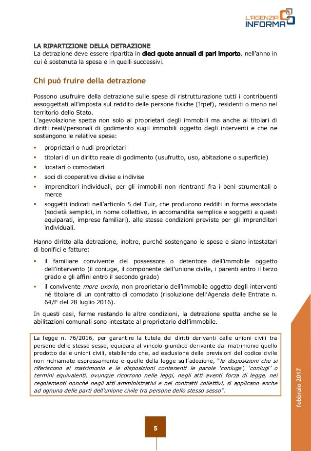 Ristrutturazione Bagno ristrutturazione bagno agenzia entrate : Guida ristrutturazioni edilizie 2017