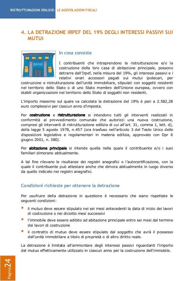 Agevolazioni fiscali per le ristrutturazioni edilizie 2013 la guida - Agevolazioni per ristrutturazione casa ...