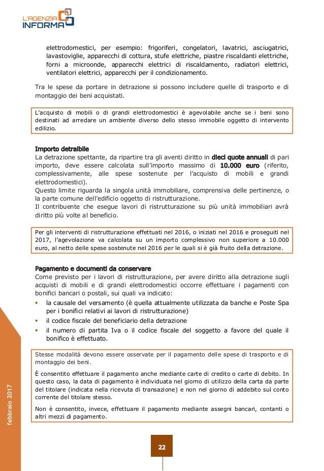 Dicitura bonifico ristrutturazione - Guida fiscale ristrutturazione ...