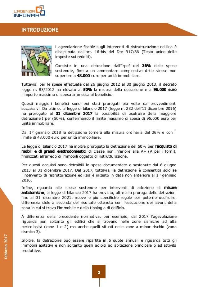 Guida ristrutturazioni edilizie_1 2017 Agenzia delle Entrate