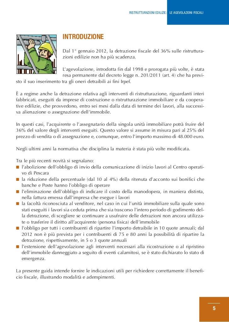 Detrazione del 36 dei lavori di ristrutturazione degli autos post - Guida fiscale ristrutturazione ...