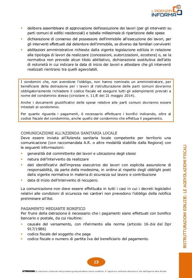 Guida ristrutturazioni edilizie aggiornata a gennaio 2015 for Guida ristrutturazioni