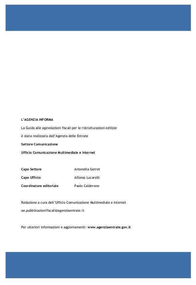 Guida agevolazioni fiscali per ristrutturazioni edilizie for Agenzia delle entrate ristrutturazioni edilizie