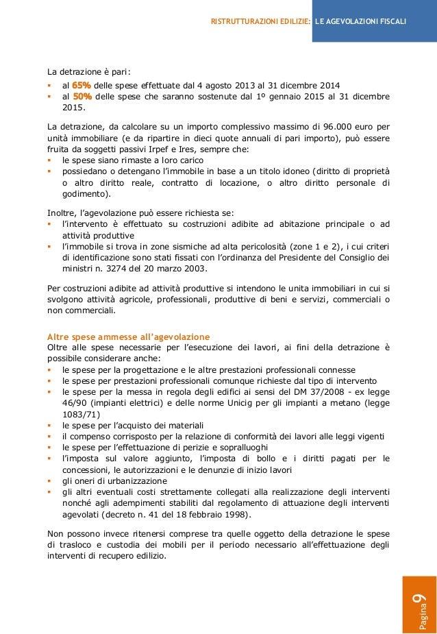 Ristrutturazione Bagno Agevolazioni Fiscali 2015: Ristrutturazione ...