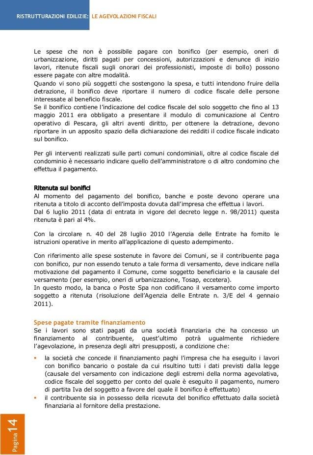 Dicitura bonifico ristrutturazione for Bonifico per ristrutturazione