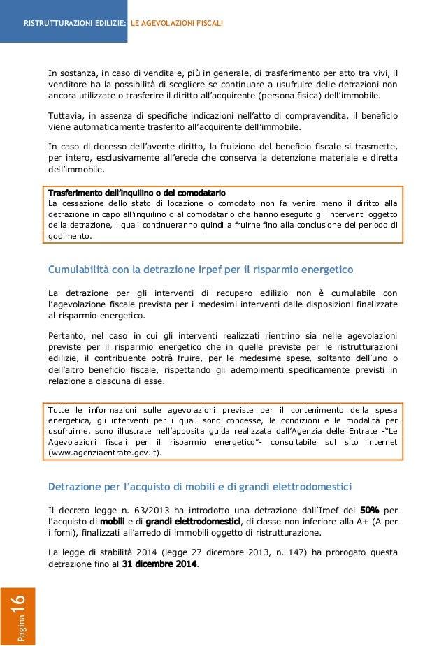 Guida detrazioni fiscali per le ristrutturazioni - Detrazioni fiscali in caso di vendita immobile ...
