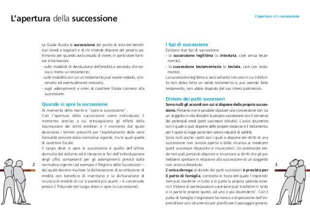 Good ... 3. I Tipi Di Successione ...