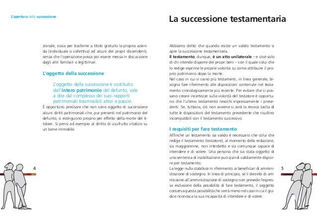 Lu0027apertura Della Successione; 4.