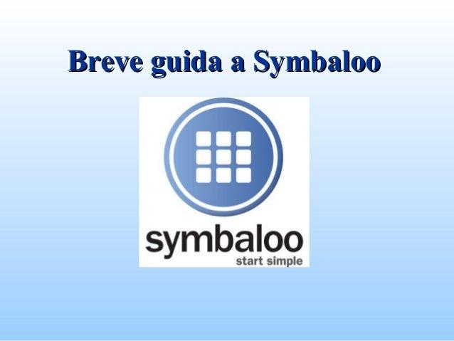 Breve guida a SymbalooBreve guida a Symbaloo