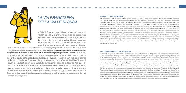 Guida della via francigena in valdisusa Slide 2