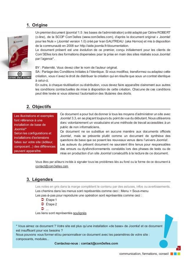 Le guide d administration d un site sous joomla3 6b12ed88f7b