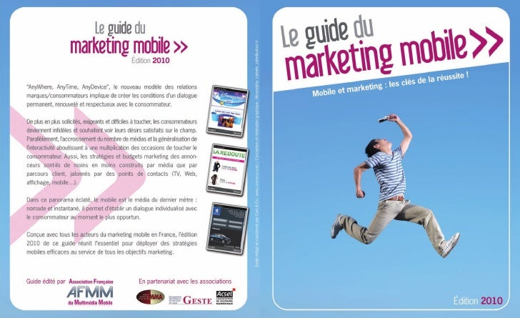 Le guide du marketing mobile               édition 2010
