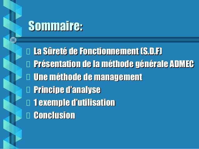 Guide amdec (très intéressant) Slide 2