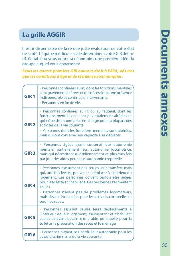 Guide apa allocation personnalis e d 39 autonomie - Definition de la grille aggir ...
