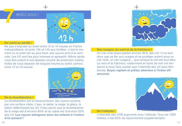 10 conseils pour profiter en toute s curit du soleil - Le soleil se couche a quel heure ...
