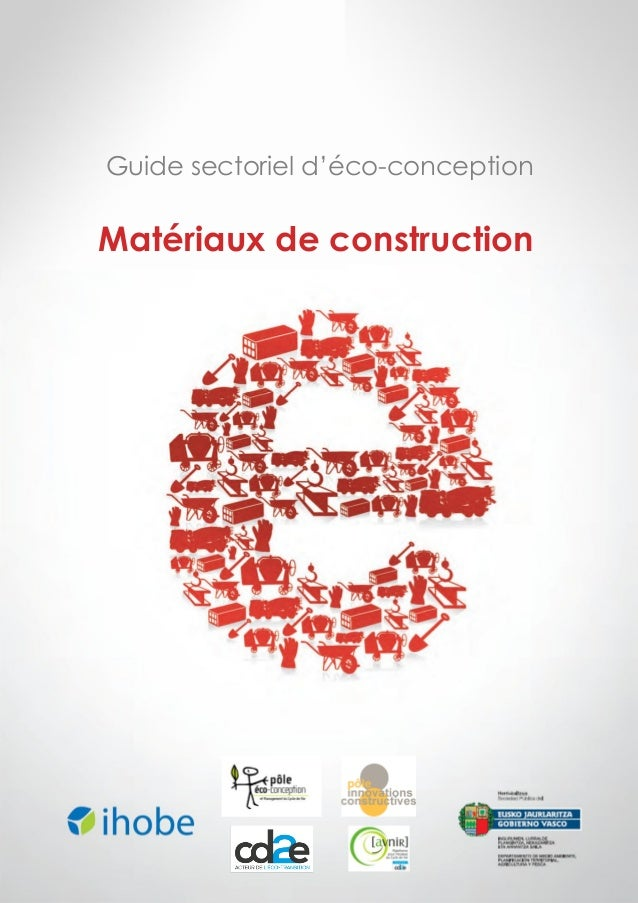 Guide sectoriel d'éco-conception  Matériaux de construction