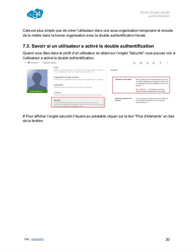 GuideGoogledouble authentification  Celaestplussimplequedecréerl'utilisateurdansunesousorganisationtemporair...