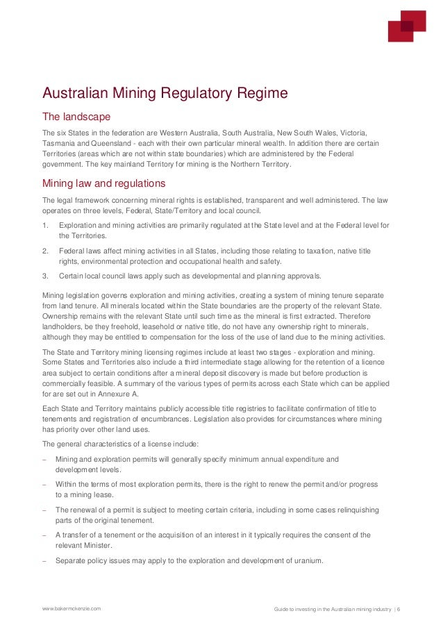 Guide to investing in the Australian mining industry - March 2017
