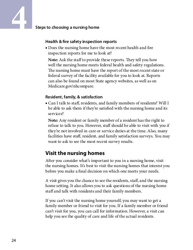Global Medical Cures™ |Guide for selecting Nursing home or long term …