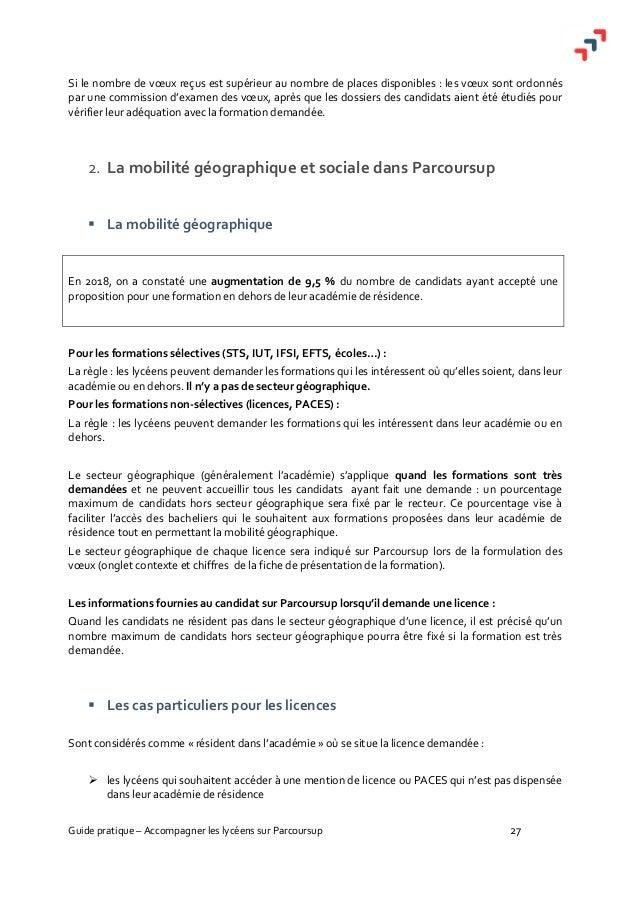 Guide Pratique Accompagner Sur Parcoursup Janvier 2019 1059547