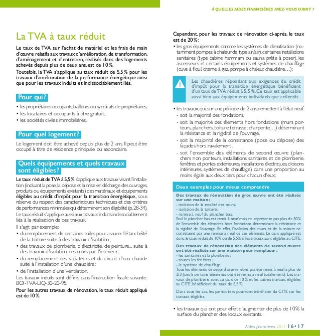 Guide des aides financieres la r novation de l 39 habitat for Ptz 2017 calcul