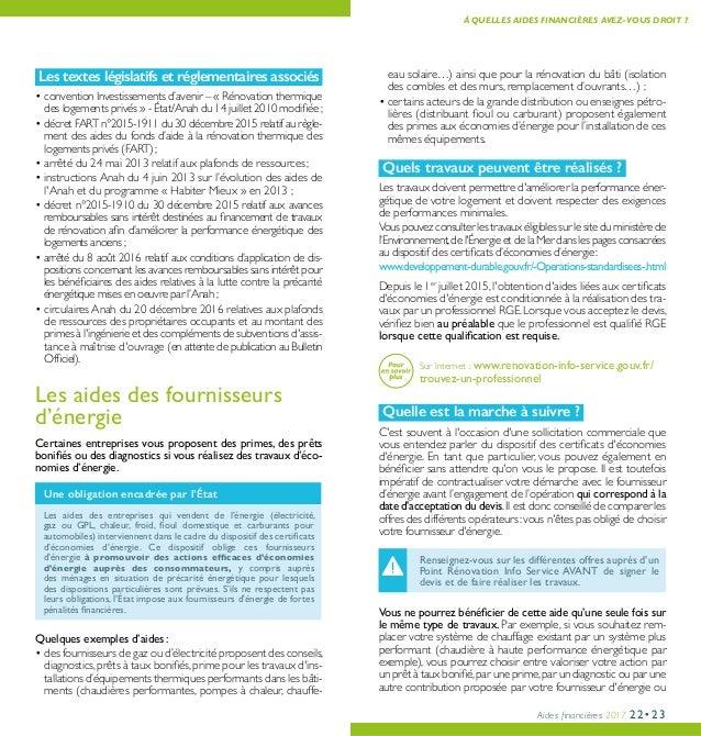 perfect aides financires with renovation maison aide financiere - Aide Pour Faire Des Travaux Dans Une Maison