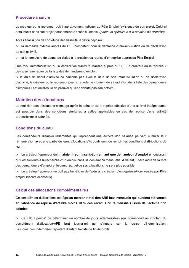 Guide Regional Des Aides A La Creation Et Reprise D Entreprises Jui
