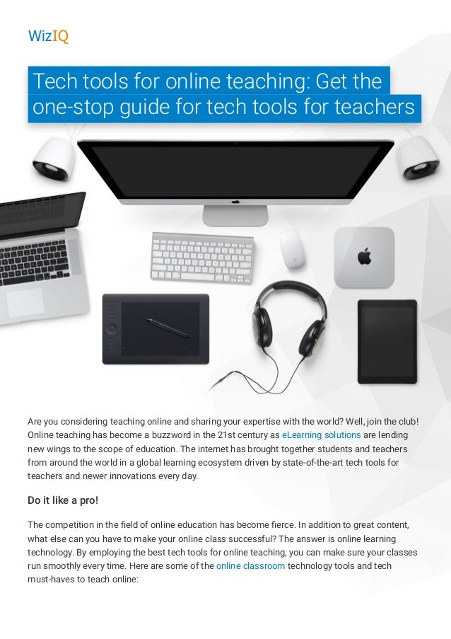 9d12cc38ef5 tech-tools-for-online-teaching-wiziq