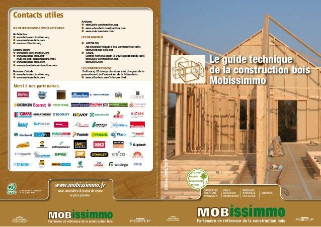 Guide technique construction bois 1 # Technique Construction Bois