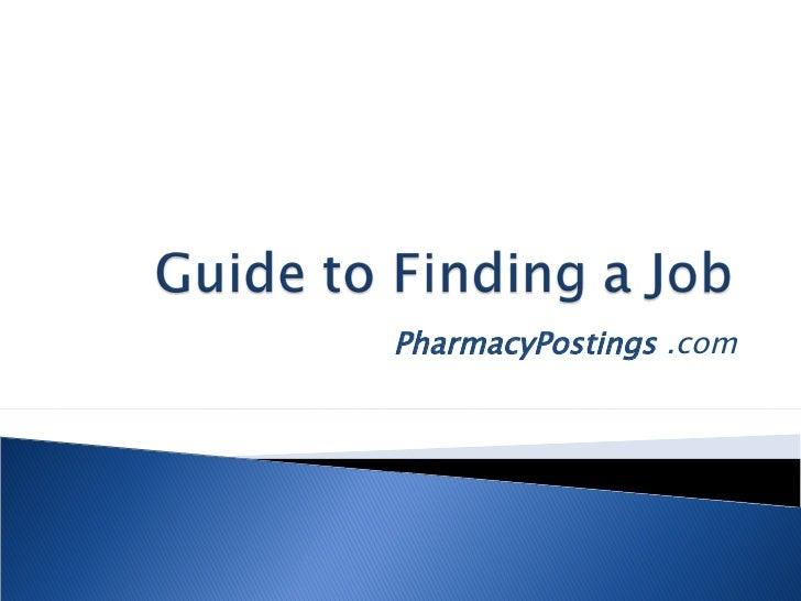 PharmacyPostings  .com