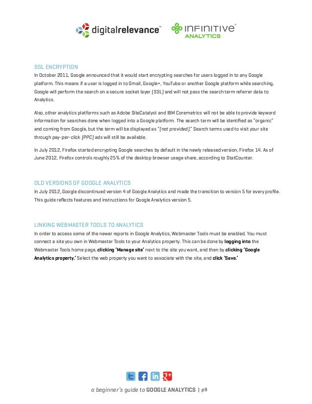 guide to google analytics google 4 rh slideshare net Google Analytics Flow Google Analytics Report