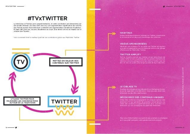 #TVxTWITTER HASHTAGS Incitez les téléspectateurs à interagir sur Twitter, à poursuivre la conversation et découvrir davant...