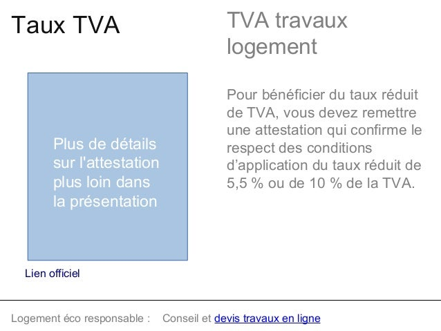 guide tva travaux dans logement. Black Bedroom Furniture Sets. Home Design Ideas