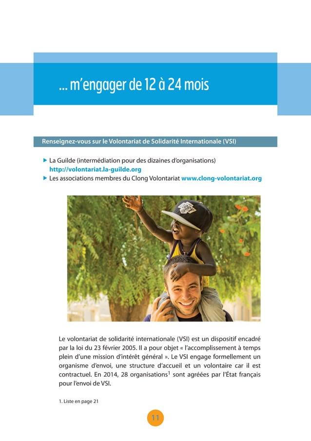 """11 Renseignez-vous sur le Volontariat de Solidarité Internationale (VSI) …m'engagerde12à24mois """" La Guilde (intermédiation..."""