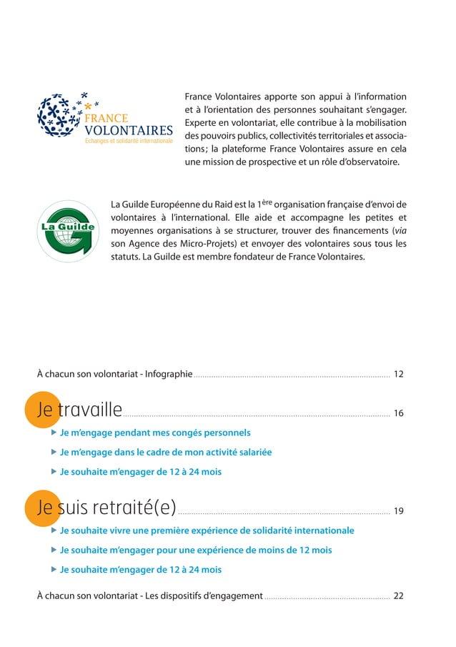 3 La Guilde Européenne du Raid est la 1ère organisation française d'envoi de volontaires à l'international. Elle aide et a...