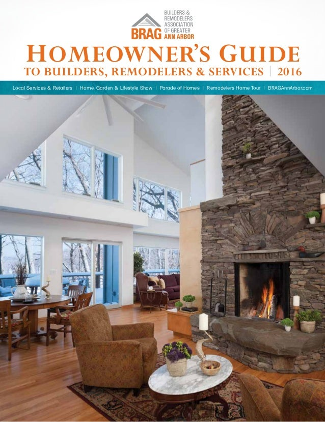 Homeowner\'s Guide to Builders, Remodelers and Services - 2016