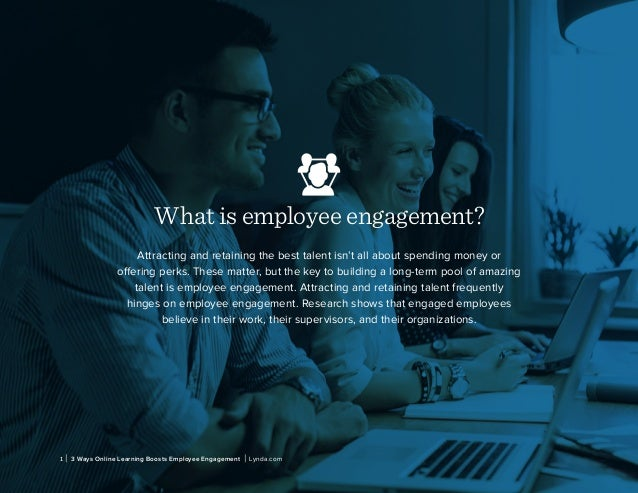 What is employee engagement? Attracting and retaining the best talent isn't all about spending money or offering perks. Th...