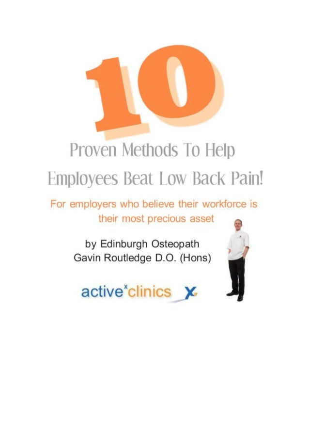 About this guideThis free guide has been provided by Clinic Director and Osteopath GavinRoutledge from activex clinics in ...